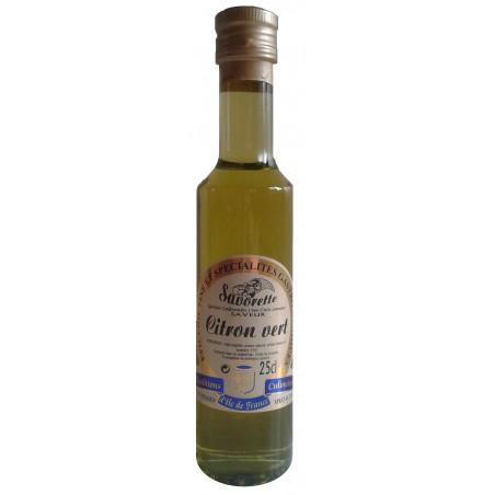 Huile Savorette aromatisée Citron vert