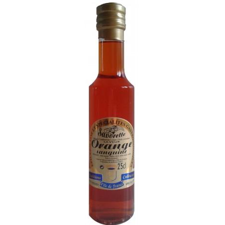 Huile Savorette aromatisée Orange sanguine