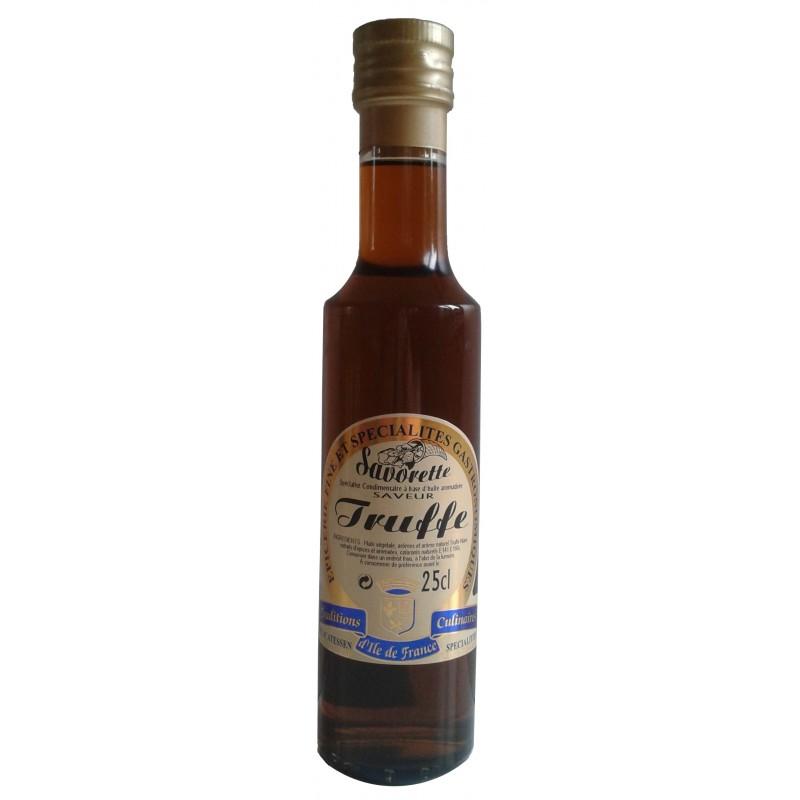 Huile Savorette aromatisée truffe noire